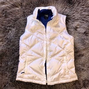 The North Face 550 Goose Down puffer vest